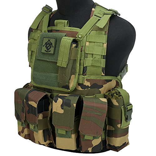 (Evike Matrix Special Operations RRV Style Chest Rig - Woodland -)