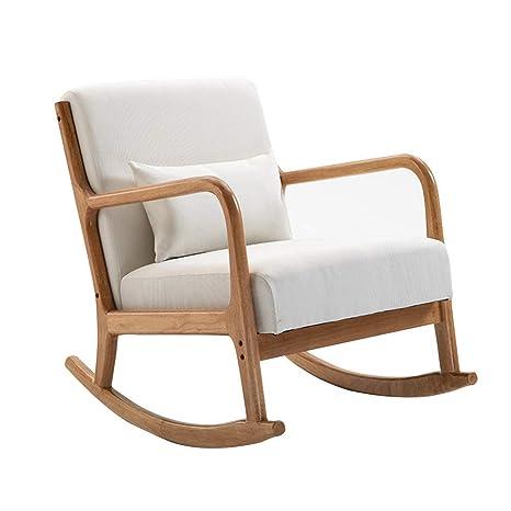 Q.AWOU Mecedora Garden Relax Furniture Sillón para el hogar ...