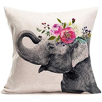 Amazon.com: Qinqingo - Fundas de almohada con diseño de ...