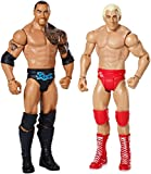 WWE Wrestling Toy - Wrestlemania 6 Inch Deluxe Action Figure 2 Pack - Rick Flair vs The Rock