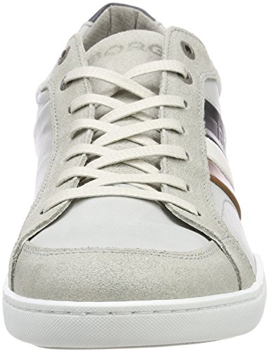 Björn Borg Hyde Rto M, Sneaker Uomo Mehrfarbig (Light Grey-navy 0273)
