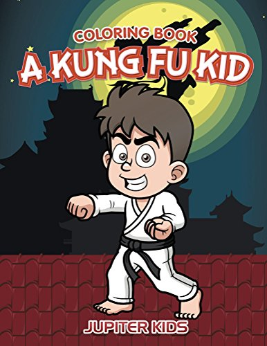 Kung Kid Coloring Book Art ebook