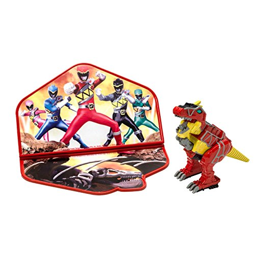 Price comparison product image DecoPac Power Rangers Dino Charge Zord Cake Topper Set,  Red
