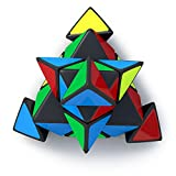 Cubinati Pyraminx Speed Cube - The Ultimate Brain Teaser for Kids and Adults - Superior Performance Triangle Puzzle Toy and Stress Cube - With Tight Corner Cutting and Smooth Operation