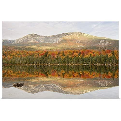 GREATBIGCANVAS Poster Print Entitled Sandy Stream Pond by 18