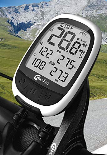 Meilan M2 GPS Cycling/Bike Computer Speedometer with ANT+ Function, Heartrate and Power Compatible