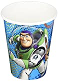 Amscan Toy Story Power Up Birthday Party Paper Cups, 9 oz, Blue