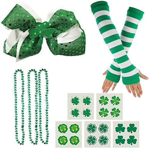Shamrock Hair Clip - St Patricks Day Accessories, Shamrock Irish Hair Clip