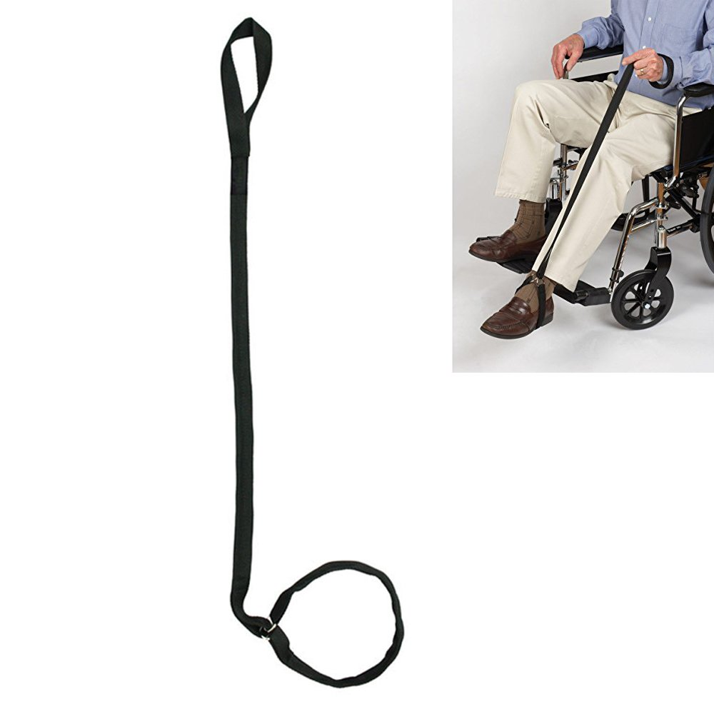 KIKIGOAL 40 inches Leg lifter for Elderly,Disability Getting In & Out of Beds, Cars, Wheelchairs