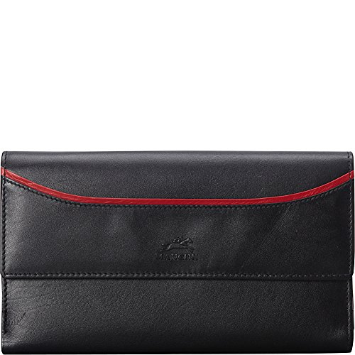 mancini-leather-goods-rfid-secure-gemma-medium-clutch-wallet-black