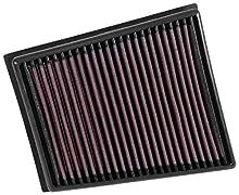 K&N KN33-3057 Sustitución Filtro de Aire Coche, Lavable y Reutilizable