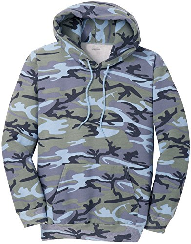 Joe's USA Camoflauge Hoodies - Camo Hooded Sweatshirts in Sizes S-4XL
