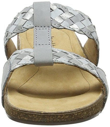 Hotter Damen Escape Zehentrenner Grey (Pebble Grey Multi)