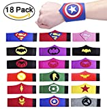 Best Bracelet Unisexes - Dlazm Superhero Bracelets for Children Birthday Party Supplies Review