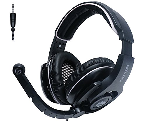 Ultimate Ninja GD-40 Computer Gaming Headset for PC, MAC, Xbox - Maximum Audio Performance and Unique Comfort