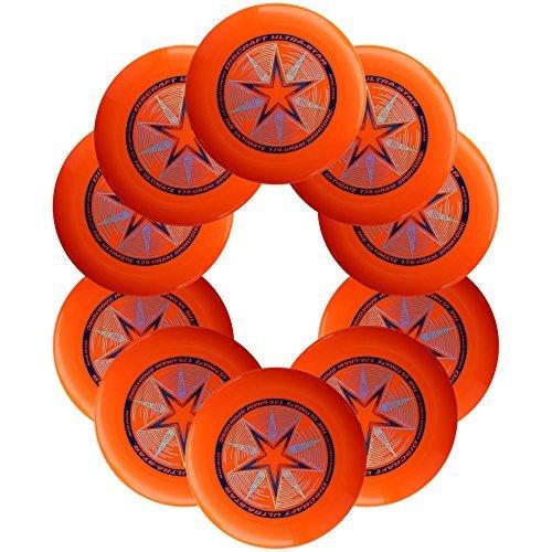 Discraft Ultra-Star 175g Ultimate Sportdisc Orange (10 Pack)