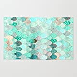 Society6 SUMMER MERMAID Rug 2' x 3' offers