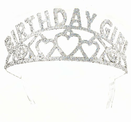 Birthday Tiaras (Forum Novelties Glitter Tiara Birthday Girl)