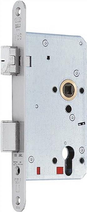 Fallen cerrojo de mandril 2126 DIN - Cerradura antipánico Li. 65 mm de pánico Función S Perfil 20 mm: Amazon.es: Electrónica
