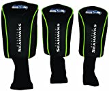 WinCraft NFL Seattle Seahawks 3-Pack Mesh Headcovers