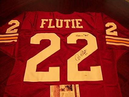 timeless design 50371 bc6b3 Doug Flutie Signed Jersey - Boston College coa - JSA ...