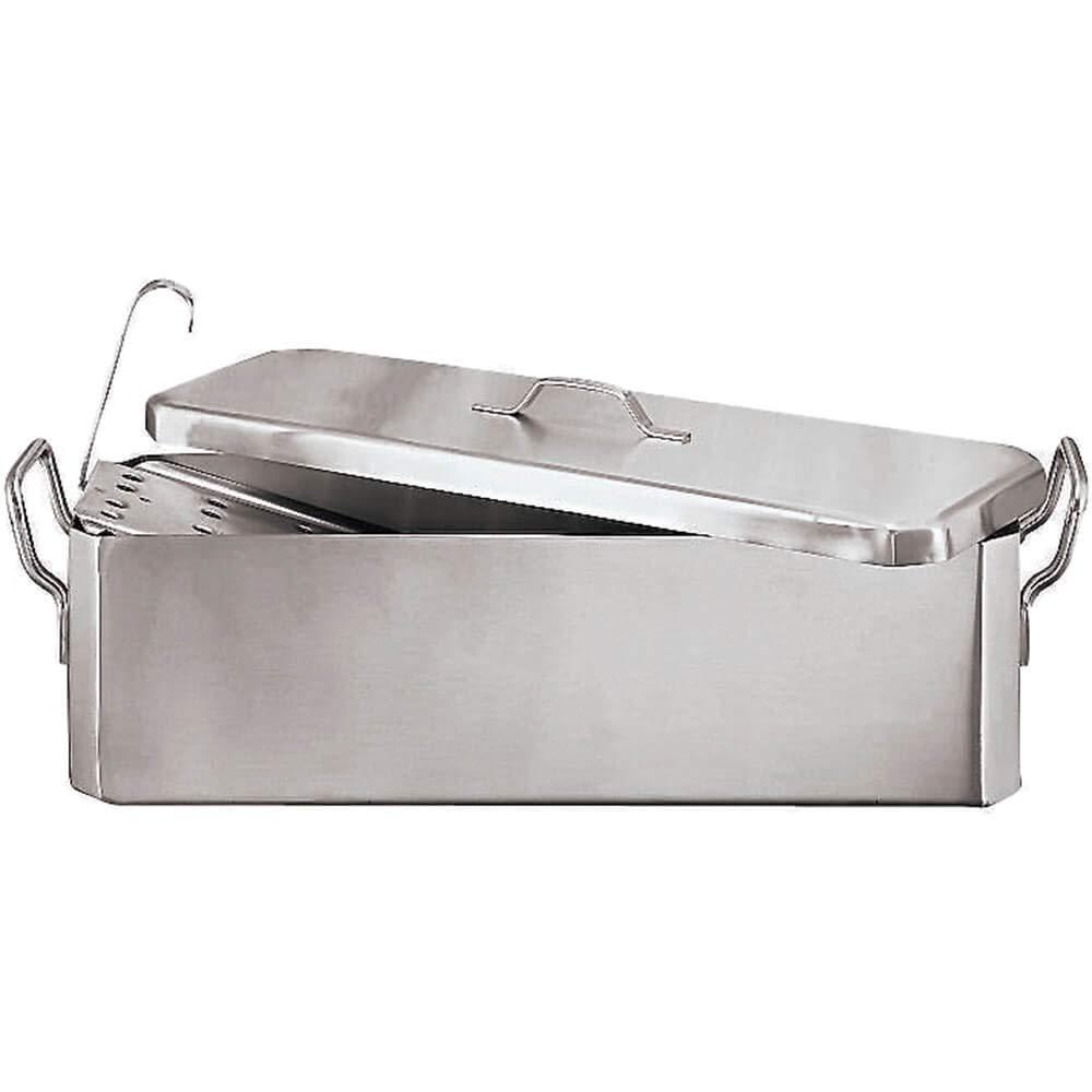 Paderno World Cuisine Fish Poacher, 27.5'' X 8.25'' Stainless Steel 11963-70