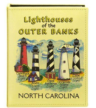 Outer Banks Lighthouses North Carolina Embossed Photo Album 100 Photos / 4x6 (Banks Nc Outer Lighthouse)