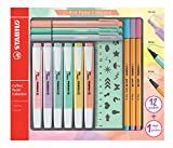 Stabilo Pastel Collection Highlighter Set 13