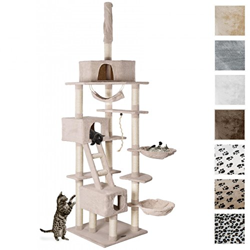 CAT015-2-Cat-Scratcher-Cat-Tree-Activity-Centre-Scratching-Post-ceiling-high-230-to-260-tall-different-colours