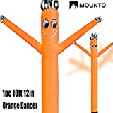 MOUNTO 10ft 12inch Air Puppet Dancer Tube Man Fly