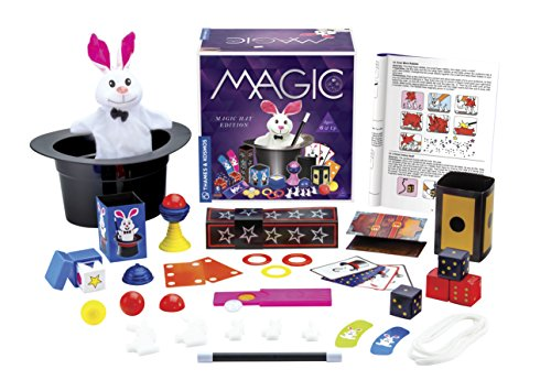 Thames & Kosmos Magic Hat with 35 Tricks   24-Page Illustrated Instruction in Full Color   for Magicians Ages 6+