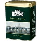 Ahmad Darjeeling Tea Tin Box Net Wt 200 g (7 Oz)