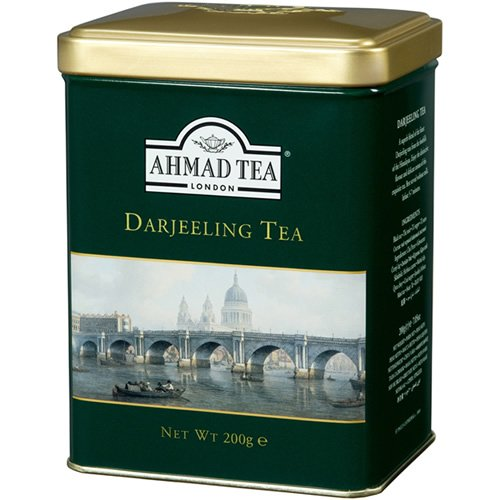 Ahmad Darjeeling Tea Tin Box Net Wt 200 g