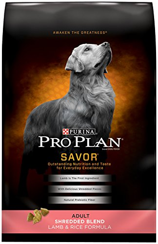 Purina Pro Plan SAVOR Adult Shredded Blend Lamb & Rice Formula Dry Dog Food - (1) 35 lb. Bag