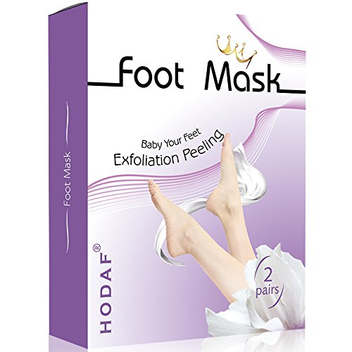 Foot Peel Mask-2 Pairs Foot Peeling Mask, Exfoliating Calluses and Dead Skin Remover- Exfoliating Sock Foot Mask,Get best foot in 1-2 Weeks