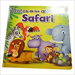 Book Datos De Los Animales: Safari