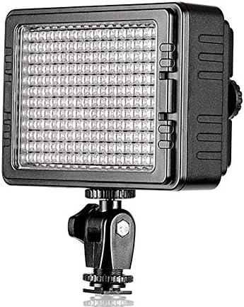 TOLIFO 160 LED PT-C-160 Dimmable Ultra High Power Panel Digital Camera / Camcorder Video Light, LED Light for Canon, Nikon, Pentax, Panasonic,SONY, Samsung and Olympus Digital SLR Cameras
