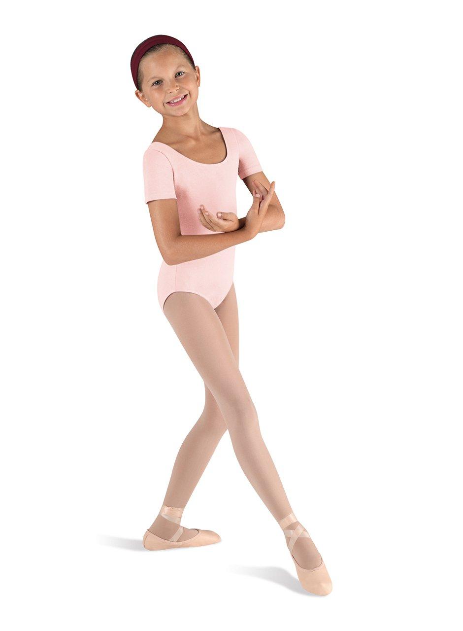 031cc6c25 Amazon.com   Bloch Dance Girls Ballet Short Sleeve Leotard   Clothing