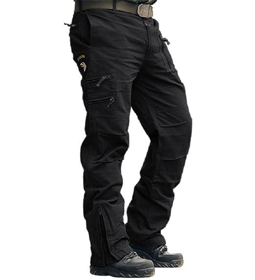 MAGCOMSEN - Pantalón de trabajo para hombre (algodón, ajuste ...