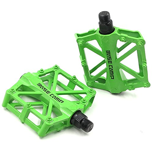MTB Bicycle Pedals Road Mountain Bike Aluminum Cycling BMX Sealed Bearings 9//16/'