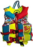 Hyperlite Child Life Vest, Blue, USCG Approved Type III Personal Floatation Device, (Red/Blue/Yellow, Child (30-50 lbs))