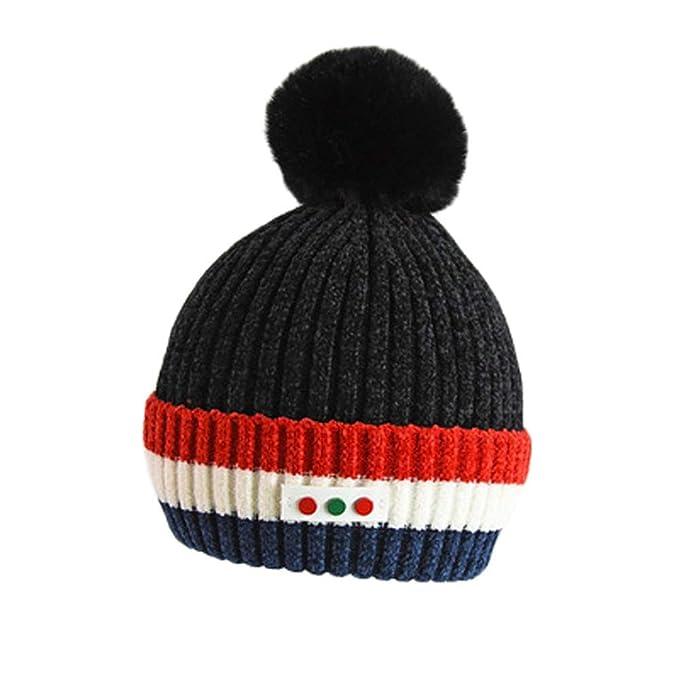 120aa2fe93f Amazon.com  Fineser Baby Hat