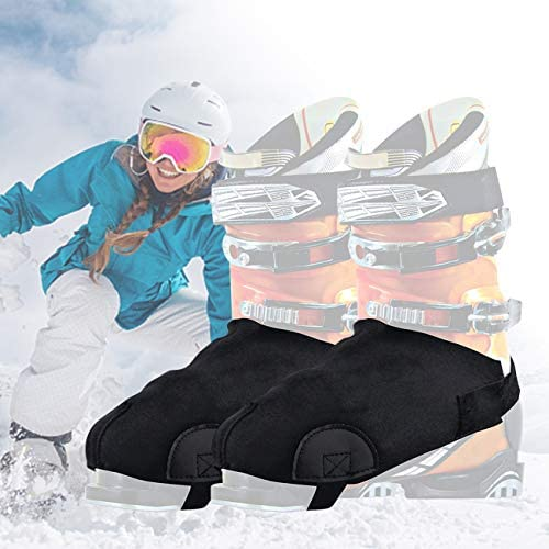N/W Ski Boot Covers Warm Your Feet, General Ski Boot Cover, Ski Shoe Protection for Hiking Winter Sports Camping Work and Construction Boots Keep Your Feet Dry and Toes Warm for Ski Lover