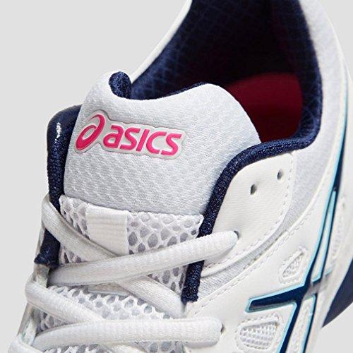 Asics Gel-Netburner Academy 7 Frauen Netball Schuhe, Weiß, 39