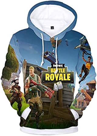 Fortnite game unisex novelty Sweatshirt Youth 3D Printed Hoodie Casual Pullover for children kids boys girls