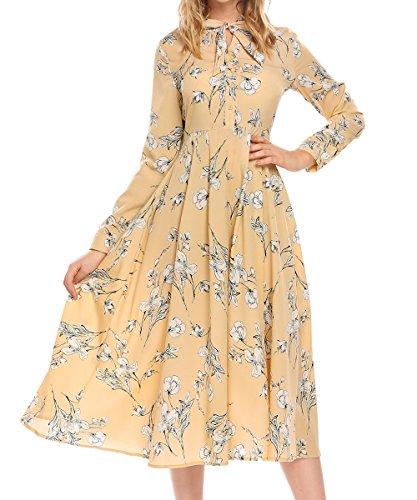 90s floral dress - 5