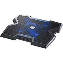 Cooler Master NotePal X3 Laptop Cooling Pad with 200mm Blue LED Fan (R9-NBC-NPX3-GP)