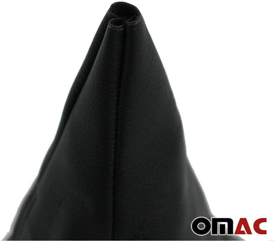 Schaltsack Schaltmanschette f/ür C Klasse W202 Schwarz Leder