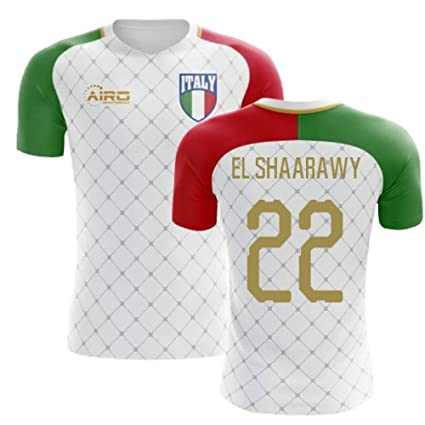 ba722786f Amazon.com   Airosportswear 2018-2019 Italy Away Concept Football Soccer  T-Shirt Jersey (Stephan El Shaarawy 22)   Sports   Outdoors