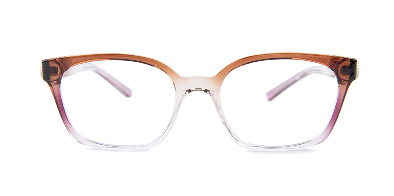 2b3241e7c9 Michael Kors VAL MK4049 Eyeglass Frames 3286-50 - Brown pink crystal  MK4049-3286-50 at Amazon Men s Clothing store